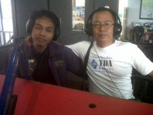 Siaran di Radio Gaya FM 93.6 Mhz