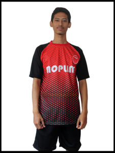 Kostum futsal printing gradasi