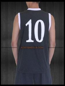 Desain Baju Basket Non Printing